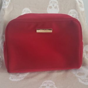 GUCCI Red Cosmetics Travel Bag NEW